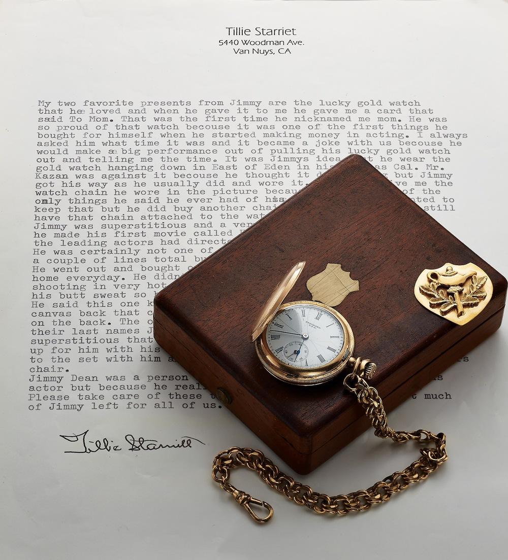 đồng hồ yêu thích của nam diễn viên người Mỹ