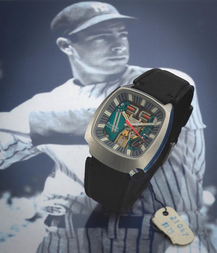 Đồng hồ Bulova Accutron của Joe Dimaggio