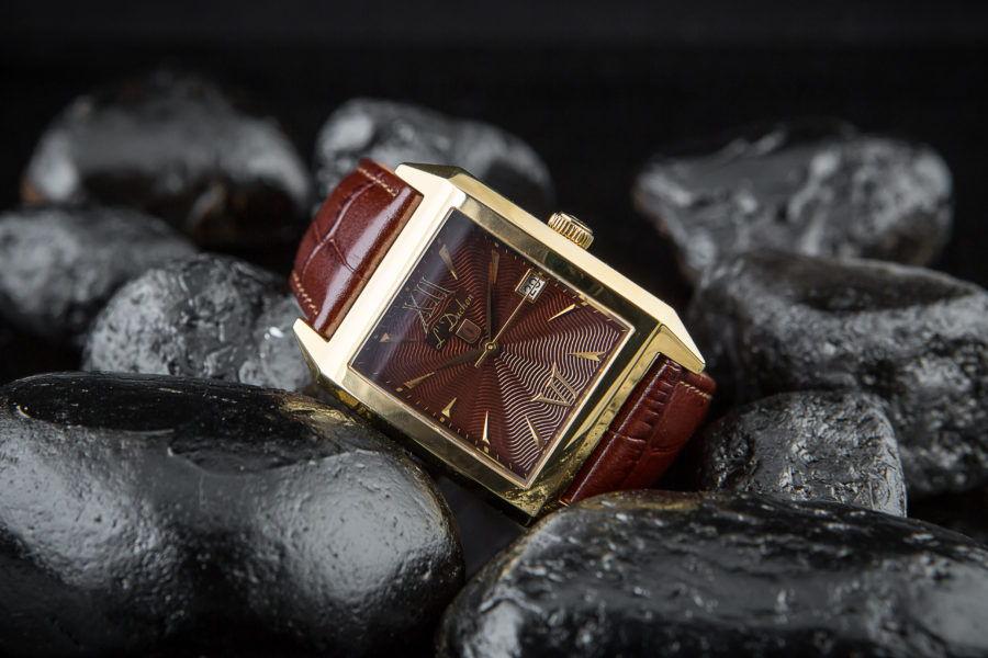 đồng hồ nam vàng hồng