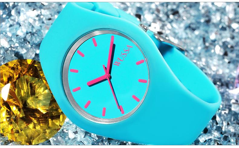 đồng hồ cao su hàn quốc