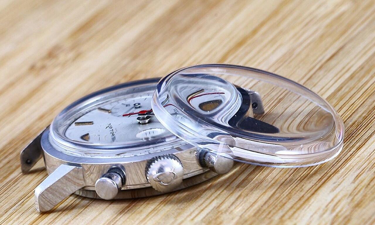 mặt kính đồng hồ và Độ dày