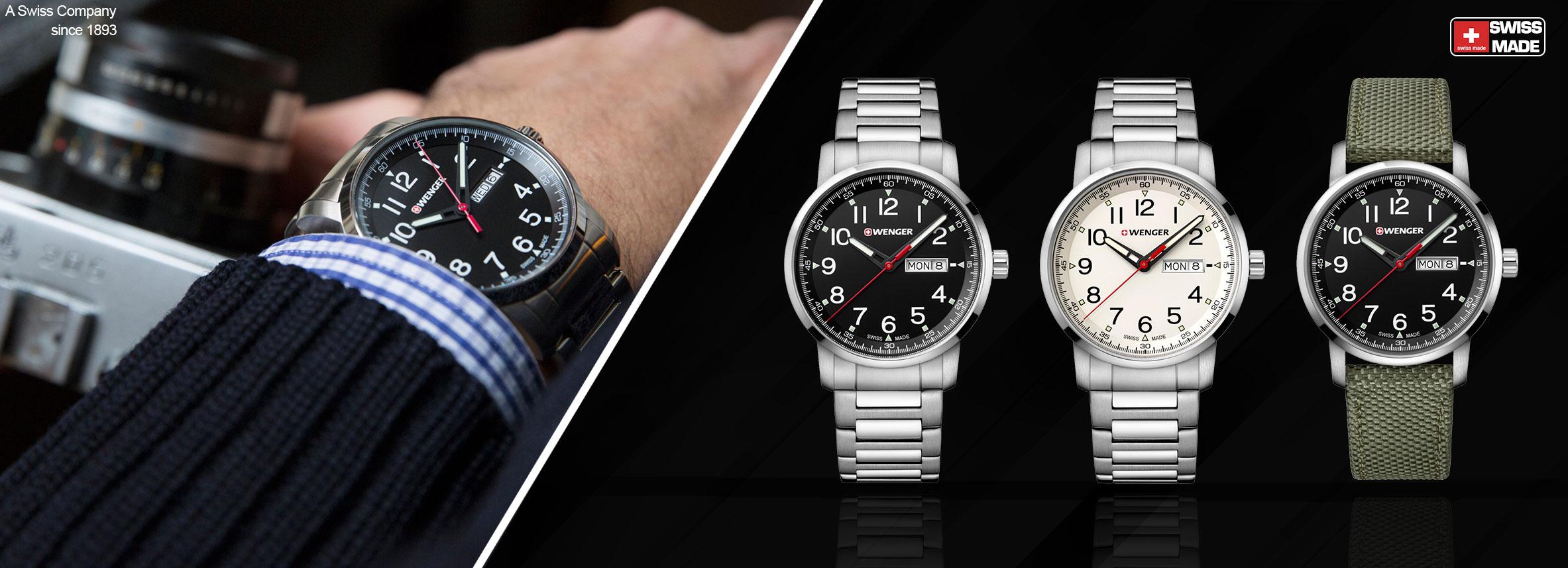 Mua đồng hồ cao cấp thương hiệu Wenger tại Erawatch