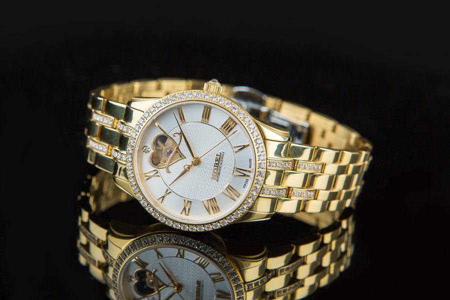 Đồng hồ Nobel cơ Nobel mạ vàng 2880028020201