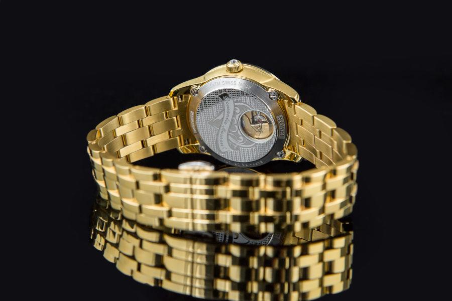 Thiết kế đồng hồ Automatic nữ hiệu Nobel mạ vàng sắc nét