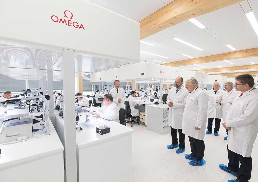 OMEGA mở nhà máy mới