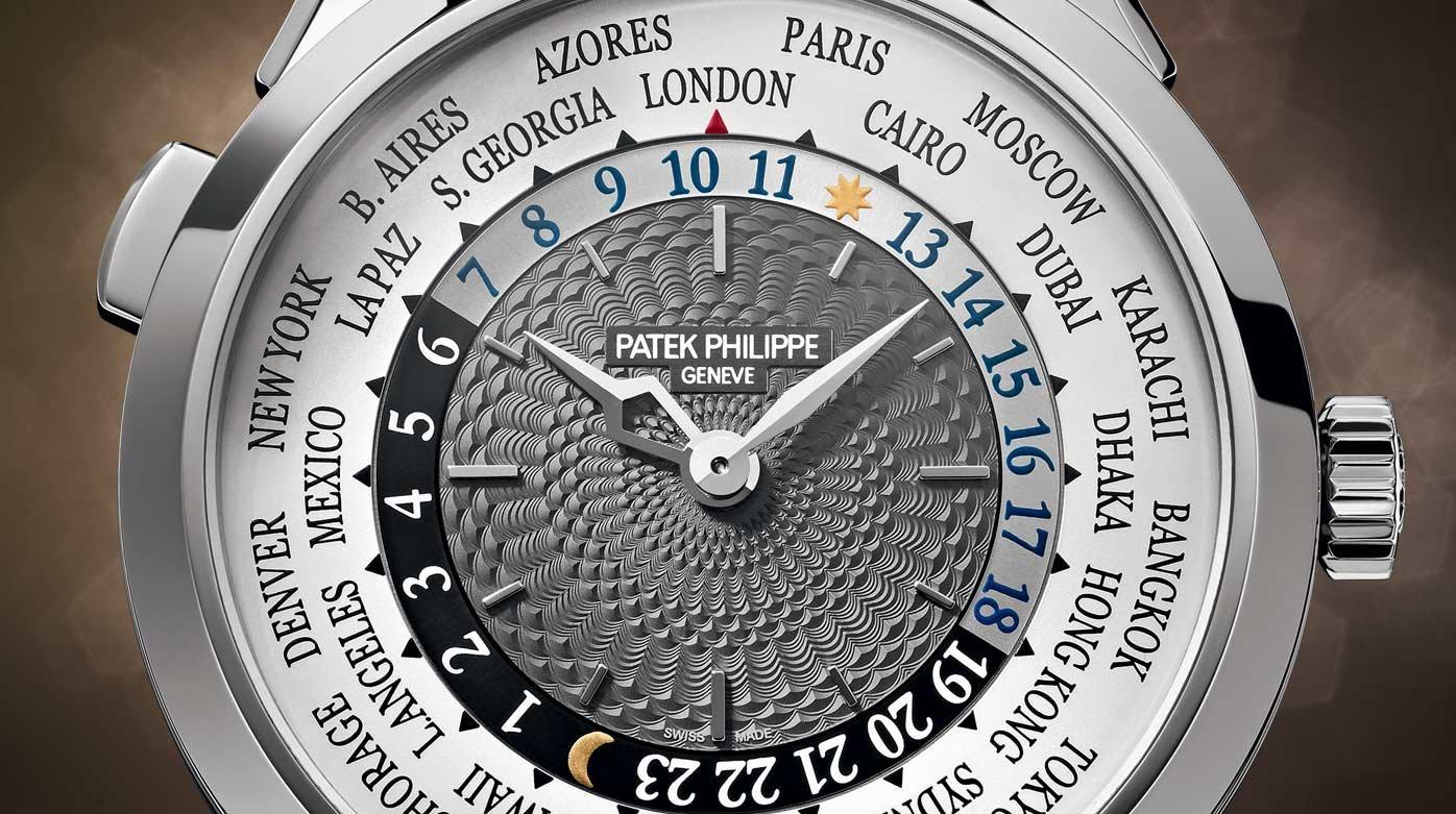 đồng hồ world time patek philippe
