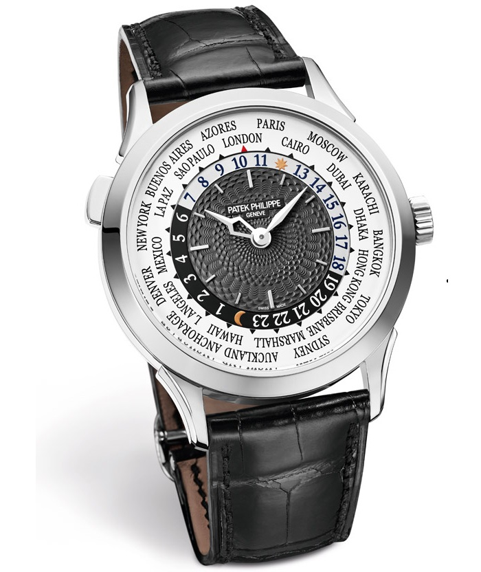 đồng hồ world time patek philippe 1