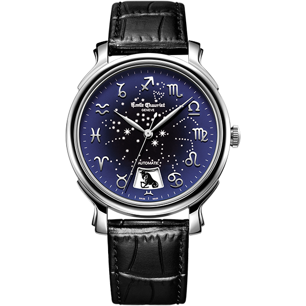 Đồng hồ Emile Chouriet mặt xanh cổ điển