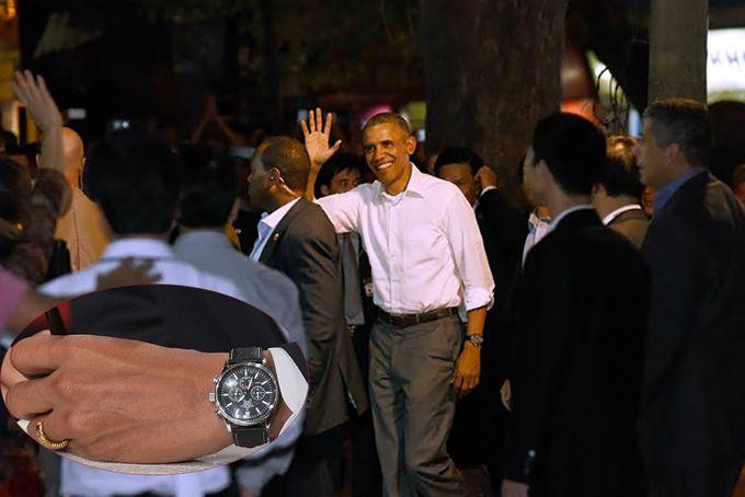 Nhãn hiệu đồng hồ Jorg Gray JG 6500 được Obama đeo khi thăm Việt Nam