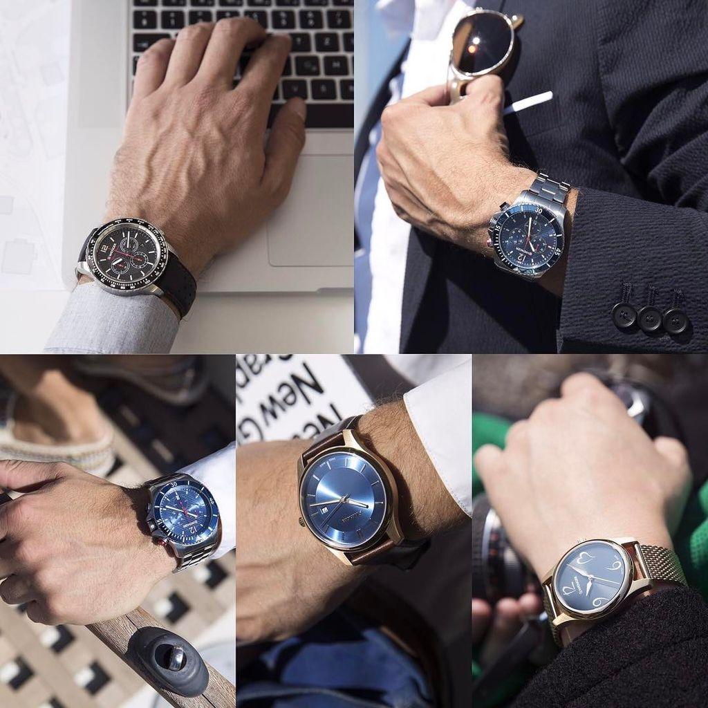 Những chiếc đồng hồ bên quý ông