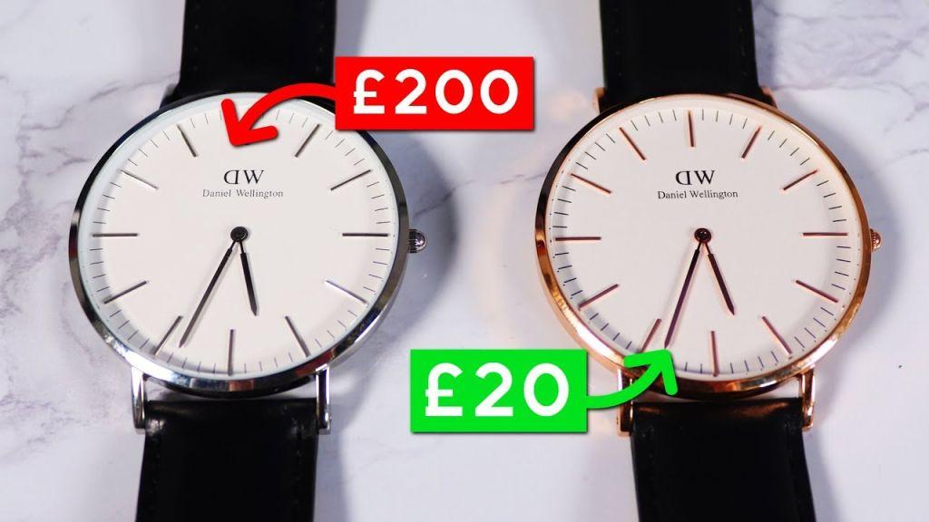đồng hồ DW thật giả