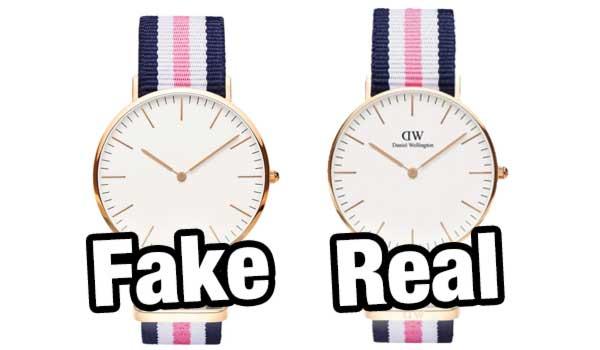 Đồng hồ DW fake và thật