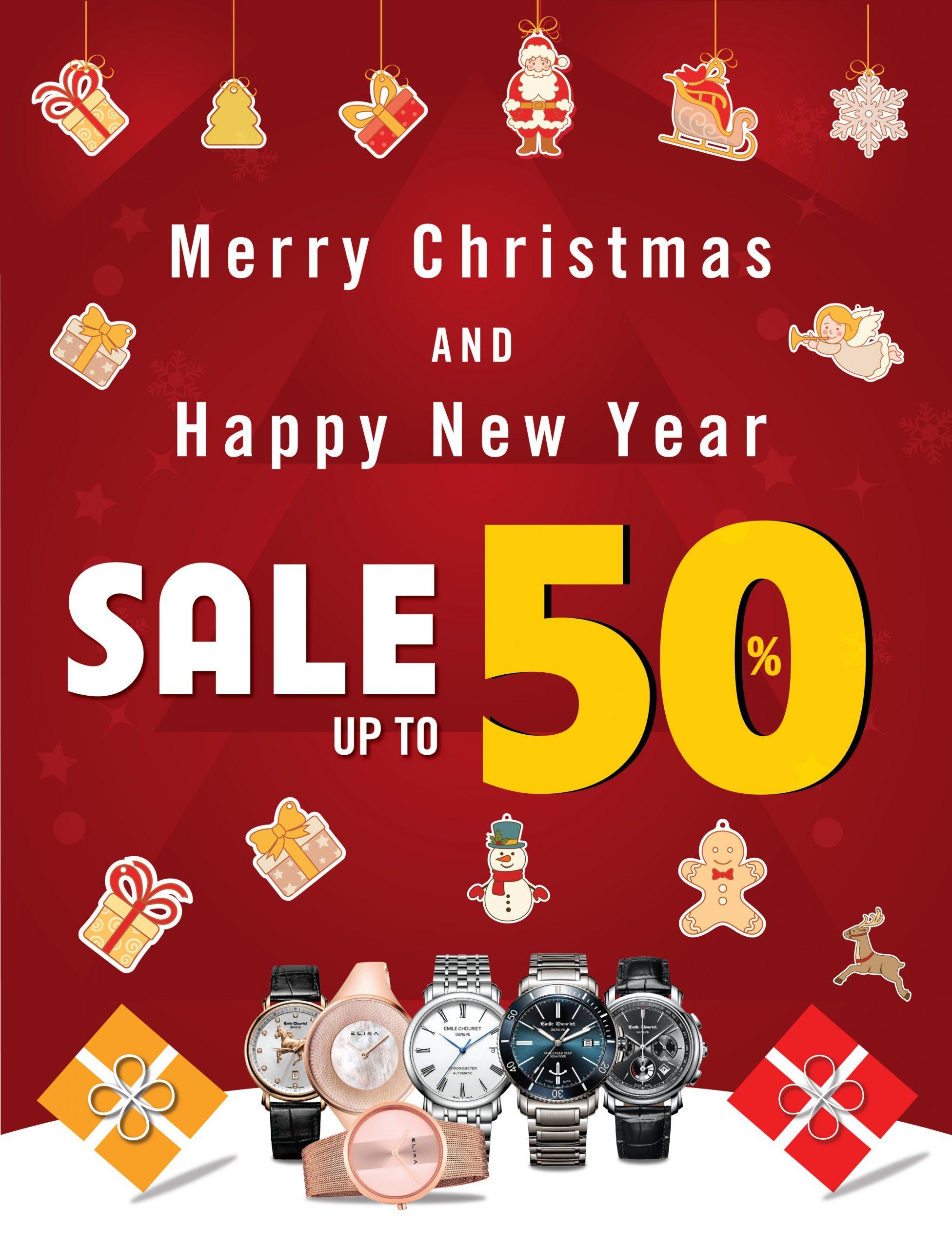 Erawatch tưng bừng giảm giá dịp Noel và năm mới