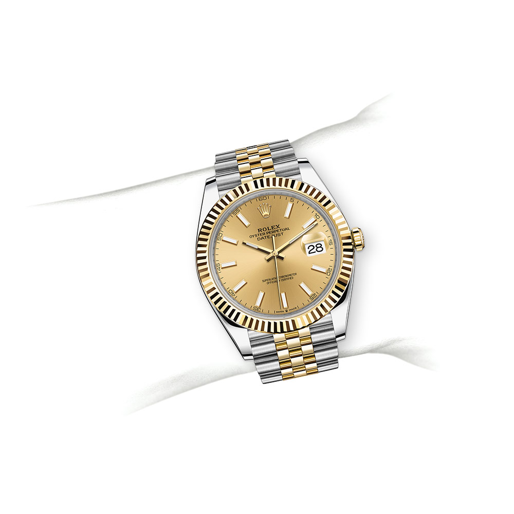 Đồng hồ Rolex Datejust Oystersteel and yellow gold - M126333-0010